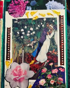 Chagall Upcycled Blank Journal